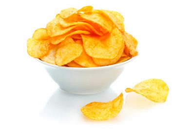 Healthier Homemade Potato Chips Recipe