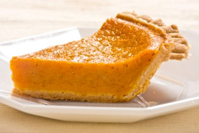 Guilt-Free Pumpkin Pie – Shell Recipe
