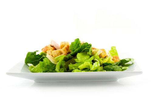 Enjoy a healthy grilled chicken salad