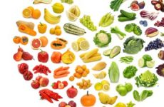 Colorful foods are healthy