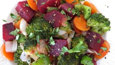Healthy Beet Stir-Fry