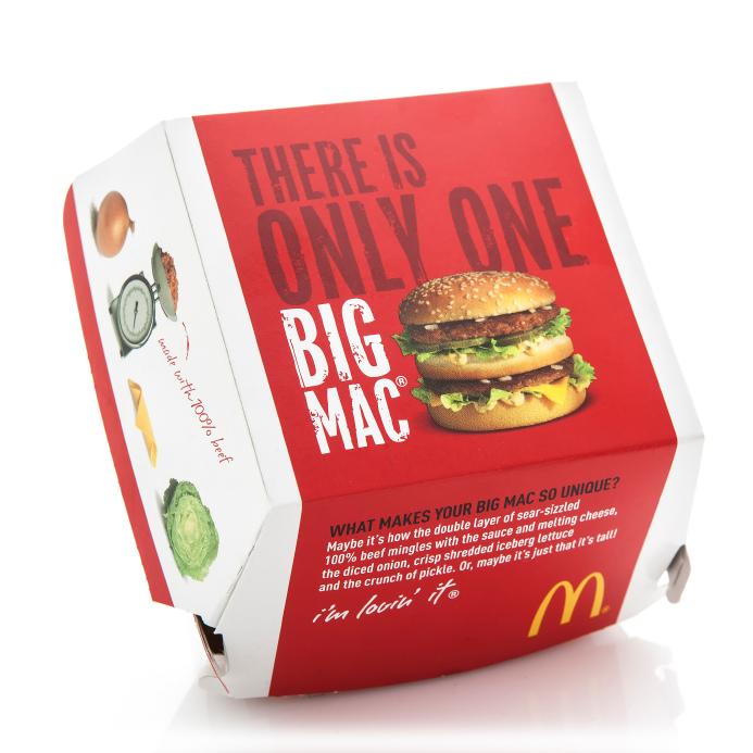 McDonalds , Big Mac