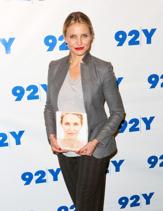 Cameron Diaz promotes her new book 'The Longevity Book'