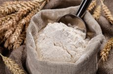 Wheat Flour Contaminated By Peanuts