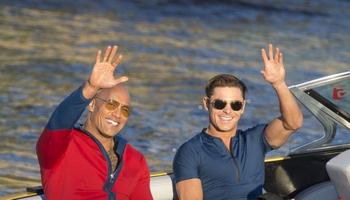 Zac Efron and Dwayne Johnson