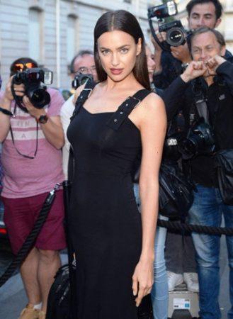 Irina Shayk at the Vogue Foundation Gala in Paris, France. Credit: Splash News.