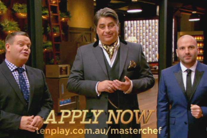 Celebrity masterchef food critics