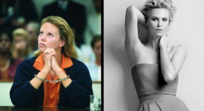 Charlize Theron vor und nach