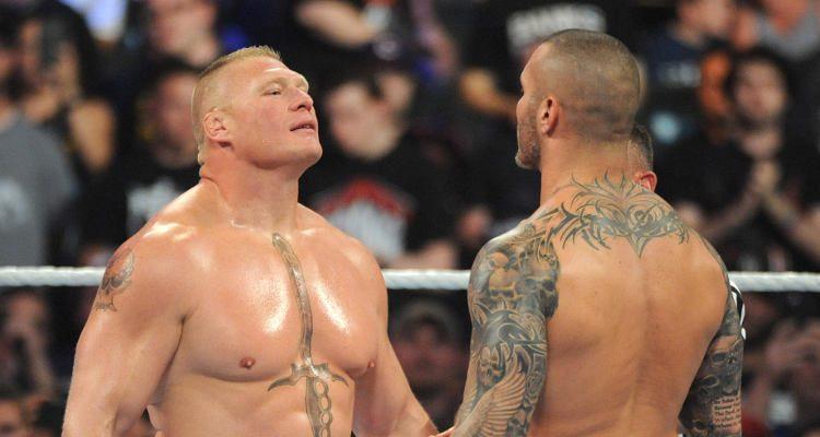Brock Lesnar, Randy Orton