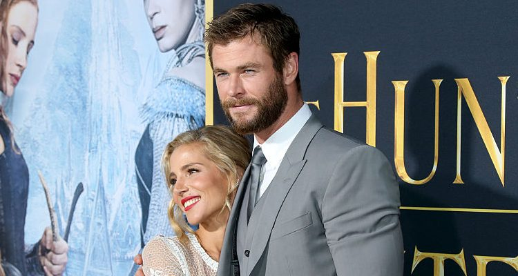 "Chris Hemsworth and Wife Elsa Pataky's Family Outing: Hunky ""Thor"" Flaunts Muscular Arms as He Cradles His Children"