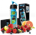 Flip-Top Sport Infuser Water Bottle
