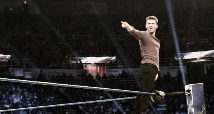 Ryan Phillippe in WWE SmackDown