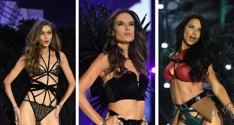 Gigi Hadid, Alessandra Ambrosio, Adriana Lima