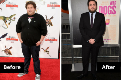 Jonah Hill Transformation