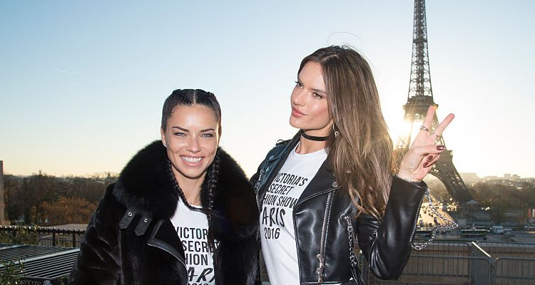 Adriana Lima, Alessandra Ambrosio, Victoria's Secret Angels at 35 Stay in Shape for VS Fashion Show 2016
