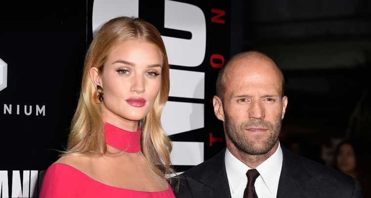 Rosie Huntington-Whiteley, Jason Statham's Girlfriend