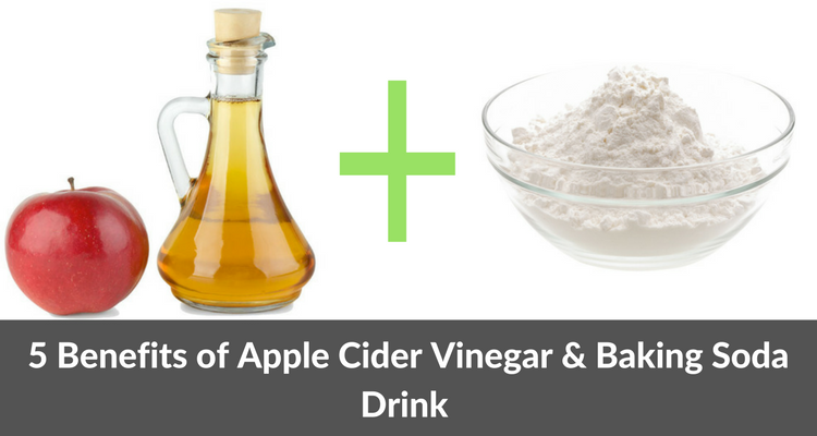 Benefits of Drinking Apple Cider Vinegar & Baking Soda Mixture