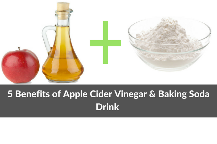 5 Amazing Benefits Of Baking Soda And Apple Cider Vinegar Drink
