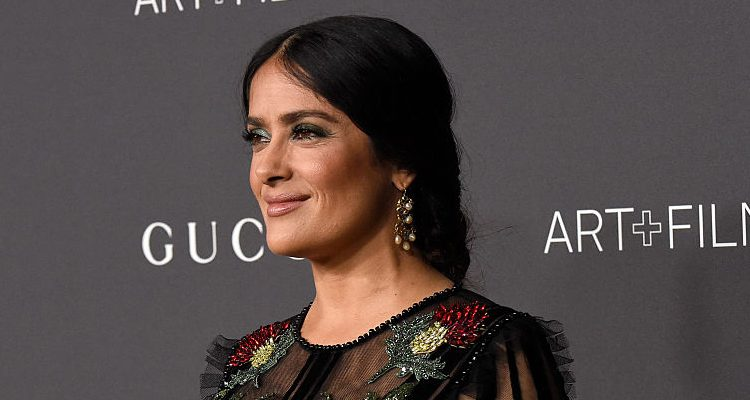 "Salma Hayek Loves Lebanese Food, Actress Tackles Cooking with Jamie Oliver for ""Friday Night Feast"""