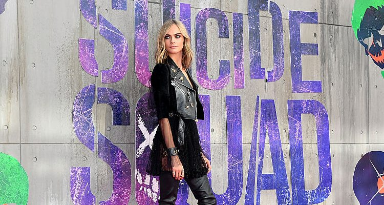 Cara Delevingne on The Late Late Show: The Beats May Be Fat but She's Looking Ultra Slim