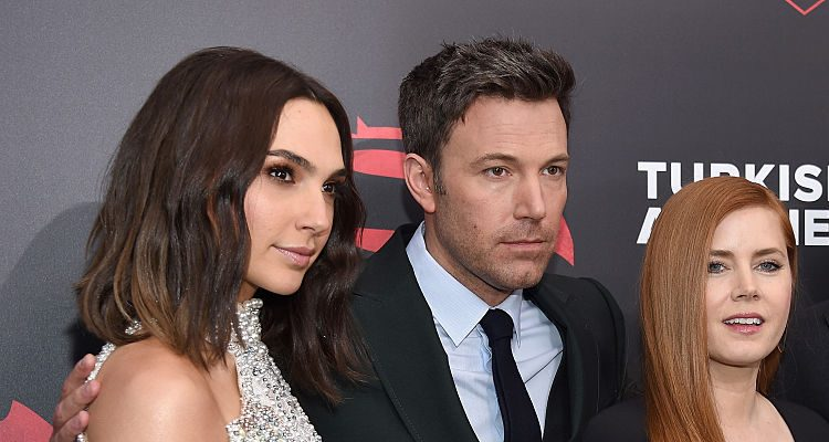 """Justice League"" First Photo: Ben Affleck, Gal Gadot, & Jason Momoa Look Superhero Fit"