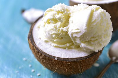 Coconut Vanilla Ice Cream