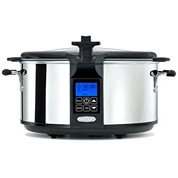 BELLA 6.5 Quart Programmable Searing Slow Cooker