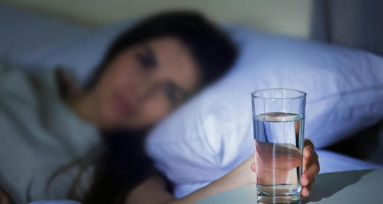 Image result for Drink lots of water before bedtime