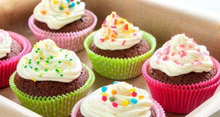 Valentine Day cupcake