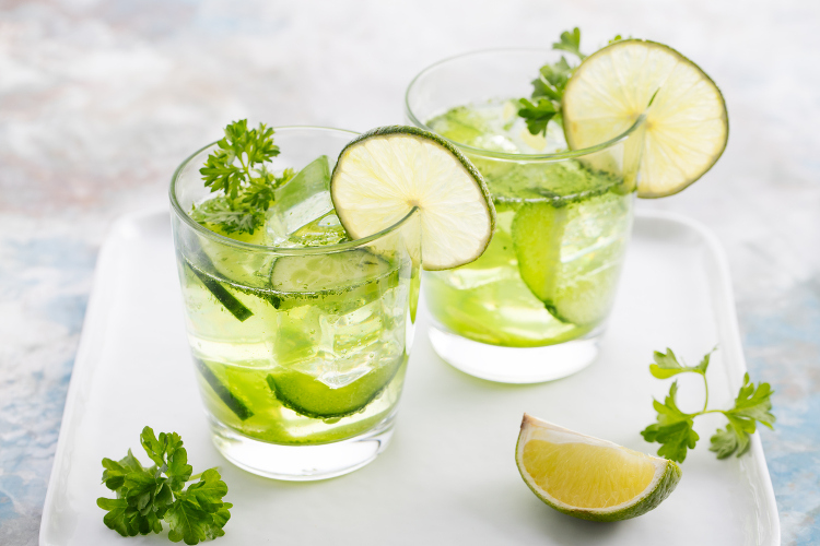 lime lemon water