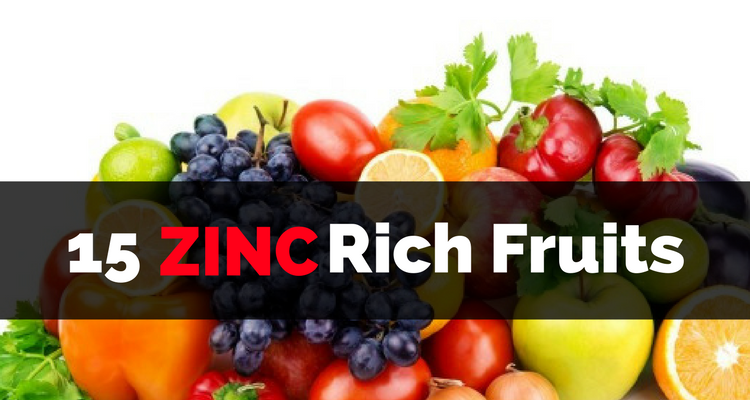Vegetables Contain Zinc Zinc rich fruits 15 foods to include in your diet zinc rich fruits workwithnaturefo