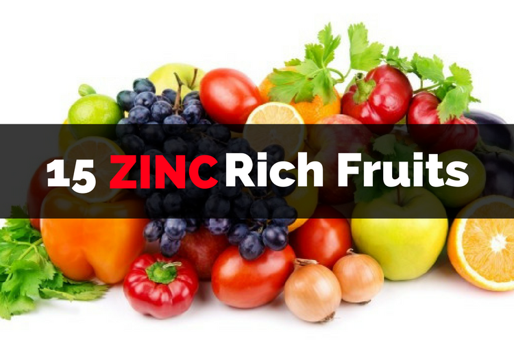 Vegetables Contain Zinc Zinc rich fruits 15 foods to include in your diet workwithnaturefo