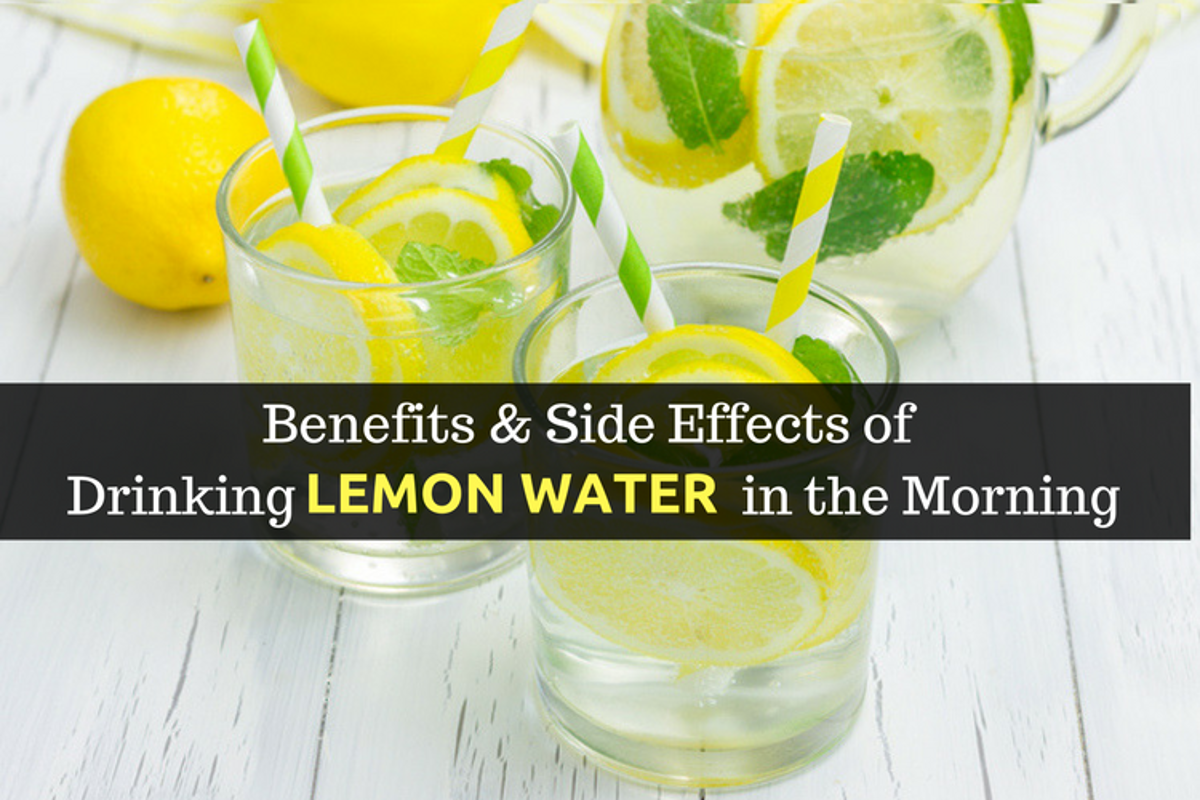 Lemon water on an empty stomach - the benefits and harm to the body