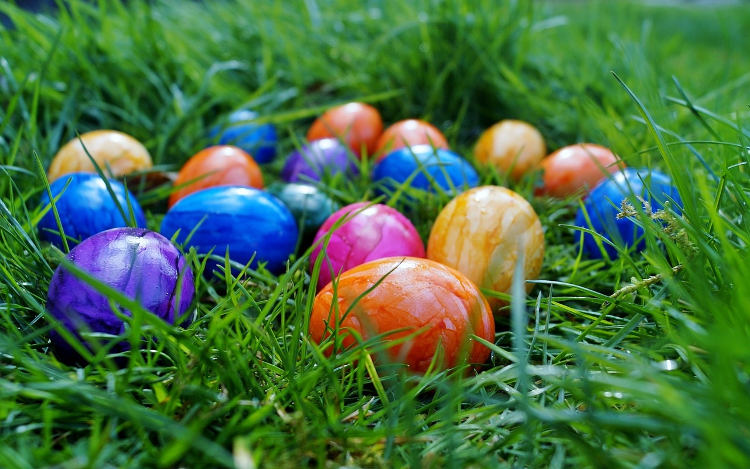 how to make easter egg dye with food coloring