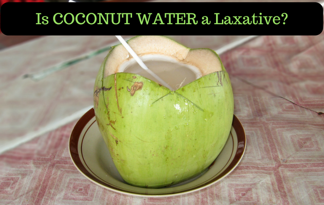Coconut Water For Constipation Relief How Good Is It As A