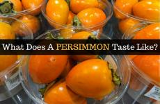 Persimmon Taste