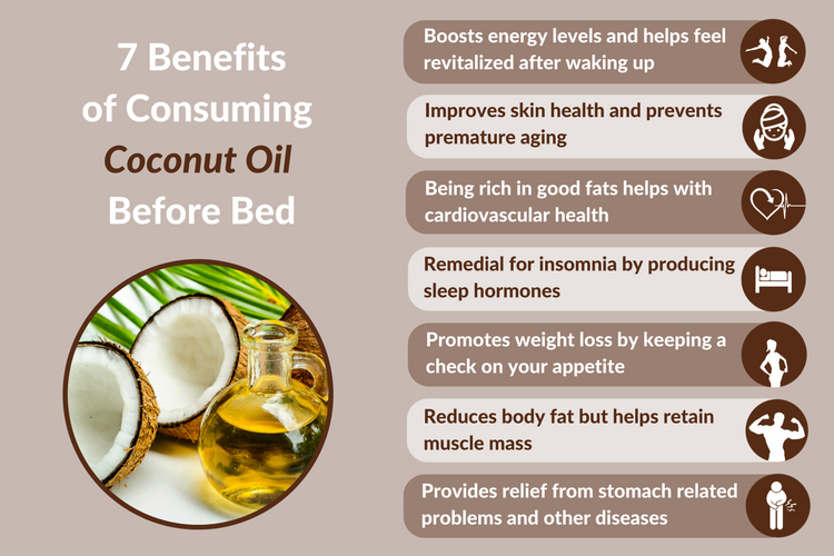 Coconut Oil Before Bed How A Teaspoon Can Benefit Your Health
