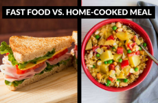 Fast Food Vs. Home-Cooked Meals