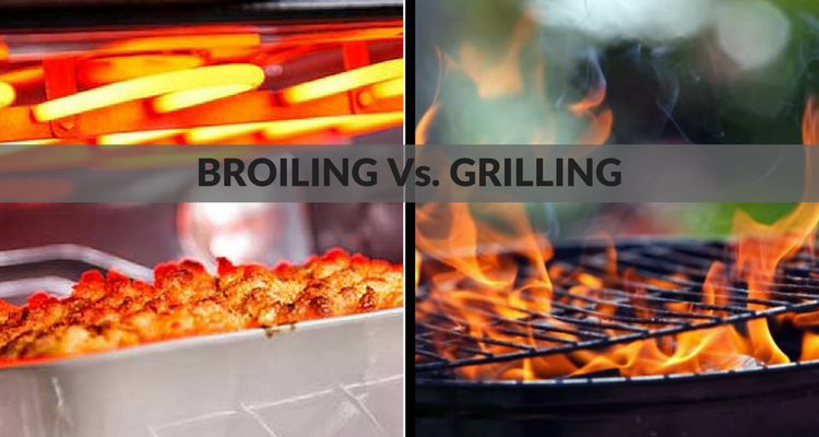 Broiling Vs. Grilling